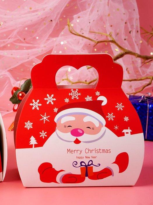 Amy烘焙網:手提聖誕包裝盒/小禮物盒牛扎糖盒/手工餅乾盒/點心糖果巧克力盒