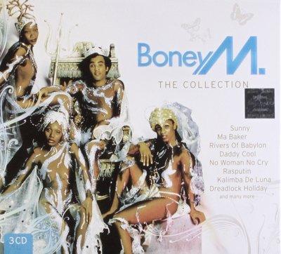 正版全新3CD~波尼M合輯 BONEY M:THE SEVENTIES/THE EIGHTIES/THE BEST 12