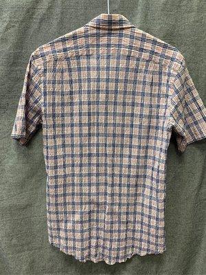 Gives&hawkes 皺褶 條紋 襯衫