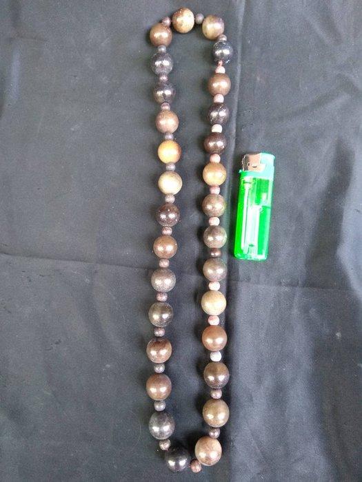 高古玉珠串(每顆珠1.6cm)