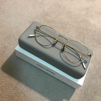 [全新]日本製 YUICHI TOYAMA USH-080 鈦金屬鏡框 eyevan7285 tart yellows native ayame Oliver