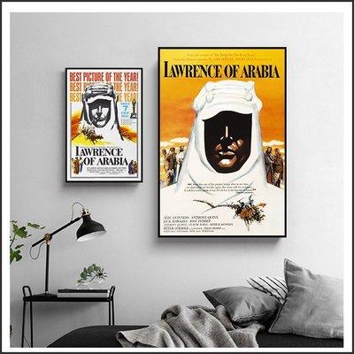 日本製畫布 電影海報 阿拉伯的勞倫斯 Lawrence of Arabia 掛畫 無框畫 @Movie PoP ~
