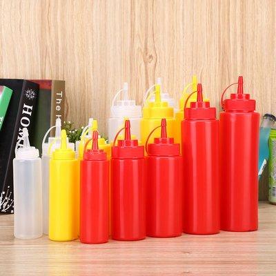 小花精品店-3只起購! 塑料番茄醬擠壓...