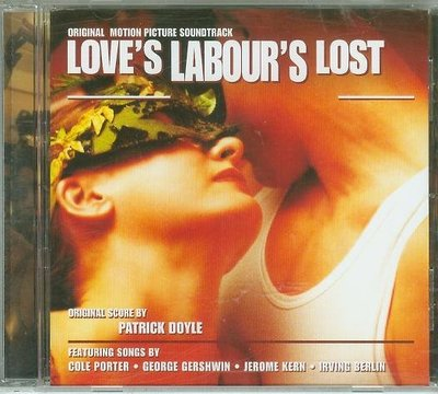 """""""迷失的愛(Love's Labour's Lost)""""- Patrick Doyle(20).全新"""