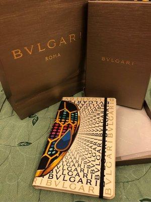 寶格麗  BVLGARI (Serpentine Tubogas)筆記本