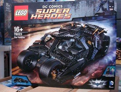 LEGO 76023 超級英雄蝙蝠車(全新)面交取貨