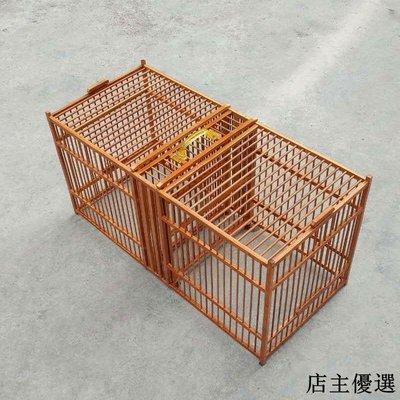 畫眉鳥竹製攻籠隨意隔鳥斗籠高溫蒸煮老竹打架籠比賽公籠