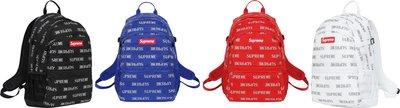 SUPREME 41th 41代 3M 反光 滿版 Reflective Repeat Backpack 背包 後背包