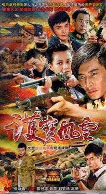 抗日戰爭電視連續劇 護寶風云 DVD碟片光盤陳冠霖肖茵