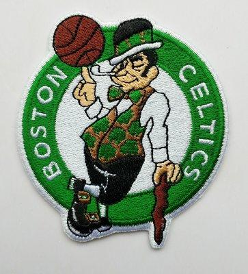 世界杯YYDS~NBA波士頓凱爾特人隊Celtics籃球刺繡補丁貼繡花布貼背膠LOGO臂章