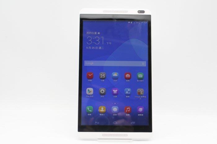 【台中青蘋果】Huawei MediaPad M1 8.0 S8-306L 白 8G LTE 二手平板 #46612