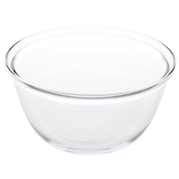 免運ღ透明玻璃打蛋盆和面盆沙拉碗加深家用烘焙打 【潮玩街】