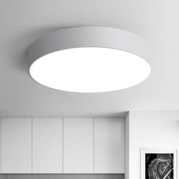 LED吸頂燈圓形臥室燈客廳燈ZJ1H9575