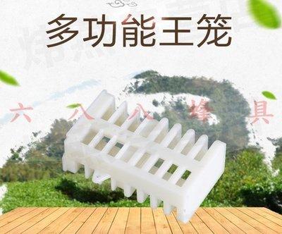 【688蜂具】塑膠多功能王籠 關王 禁王籠 囚王籠工具 現貨 意蜂 中蜂 洋蜂 土蜂 野蜂 養蜂工具 保護罩