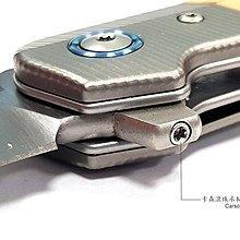 【angel 精品館 】義大利 MKM CLAP 鈦金屬+橄欖木柄折刀Terzuola設計M390鋼LS01