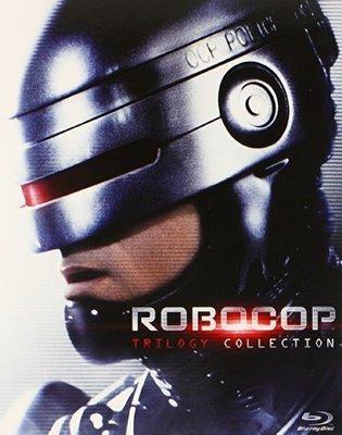 BD 全新美版【機器戰警三部曲】【Robocop Trilogy】Blu-ray 藍光