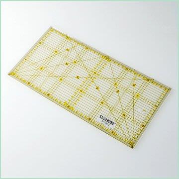 【傑美屋‧縫紉之家】拼布縫紉工具#Sew Mate 雙色裁尺切割定規尺15×30cm1530-2