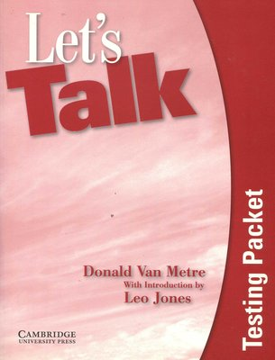 Let's Talk 1 Testing Packet   (附Testing Packet Audio CD)