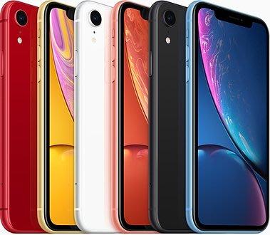 Apple iPhone XR 64G IXR 6.1吋 手機 空機 限量藍 面交  拍賣低 i8 plus xs參考