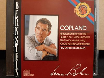 Bernstein,Copland-Appalachian Spring,Fanfare For The Common Man,伯恩斯坦,柯普蘭-阿帕拉契之春等