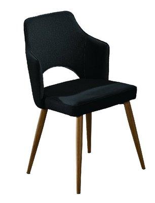 【韓風臻品F485A6】鐵藝皮餐椅(2色可選)  餐椅 洽談椅 午茶椅 餐桌椅  餐廳 民宿 咖啡館