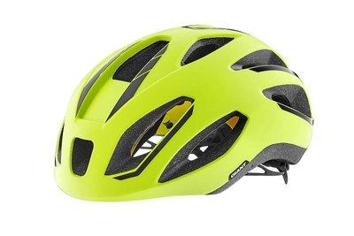GIANT捷安特 ILLUME STRIVE MIPS亞洲頭型空力安全帽 M(適合55-61cm頭圍)黃色搭配反光貼紙