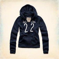 Hollister Co. CHO新款LOBSTER POINT SHINE hoodie立體亮亮連帽外套