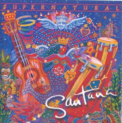 Santana山塔那樂團 超自然力 Supernatural《Love of My Life》【片優 如新】