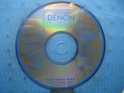 [無殼光碟]IM DENON Let's Dance Vol. 9  無ifpi MADE IN JAPAN