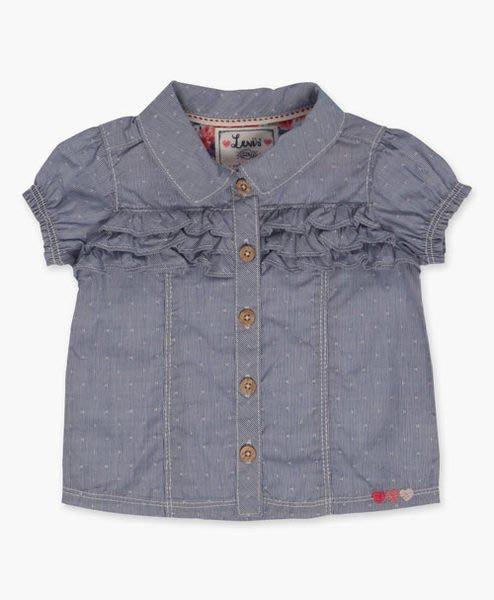 【BJ.GO】 Levi's®_Infant Girls Woven Top (12-24 M) 甜美荷葉花邊設計師上衣