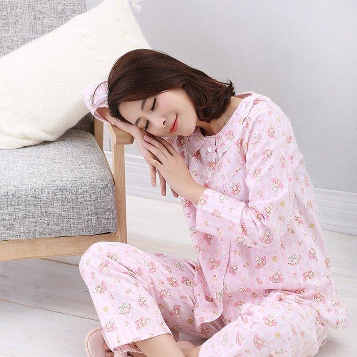 【Mi Ni】外單 卡通印花   居家休閒服睡衣   上衣+長褲