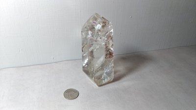 天然白水晶柱~開運能量~重約700克~編號CT15-3
