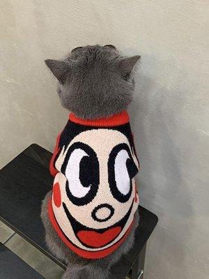 店長嚴選新年大促網紅貓咪泰迪小奶狗狗衣服新年裝寵物英短旺仔毛衣可愛搞笑搞怪冬