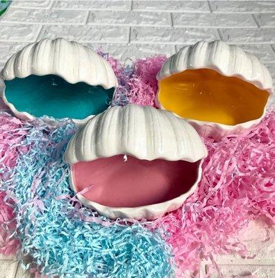消暑海洋貝殼陶瓷窩(大) 蜜袋鼯 松鼠 飛鼠 花栗鼠 寵物鼠