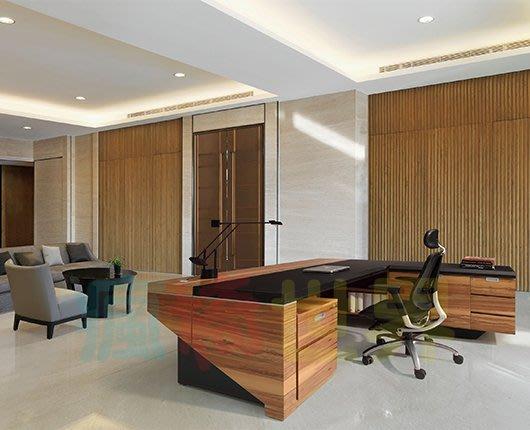 《瘋椅世界》OA辦公家具 全系列 訂製高級 主管桌 EN-A9033(董事長桌/老闆桌/辦公桌/工作桌)需詢問