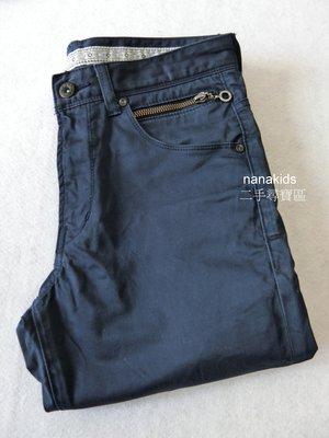 二手出清。男裝。日本 RAGEBLUE 休閒褲 專櫃正品 (藏青)(S號)現貨免運~nanakids娜娜童櫥