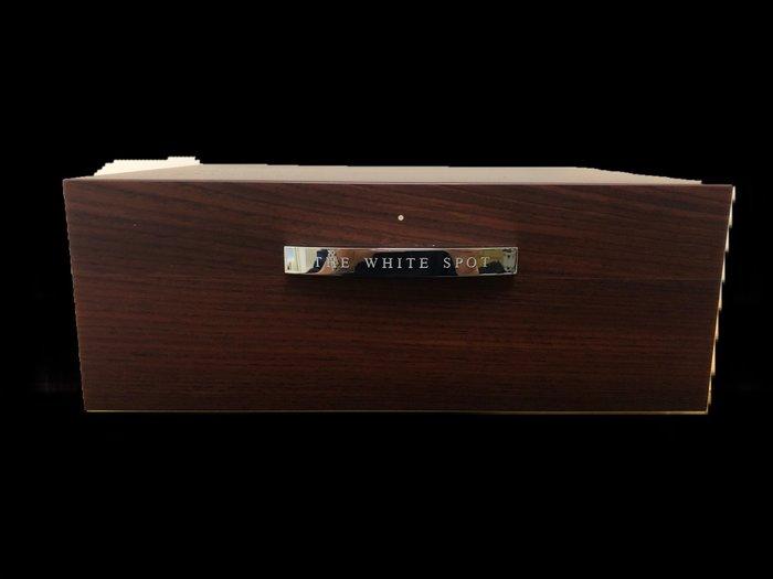 dunhill white spot 黃檀木50支裝雪茄盒