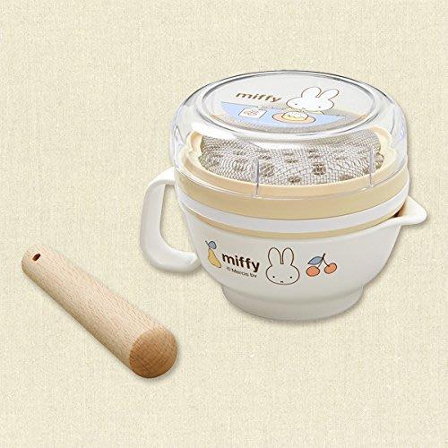 ..☆.。.【Bellcot】☆寶貝斷奶用具.。Miffy簡單調理組合~(日本製)~☆.。.:*