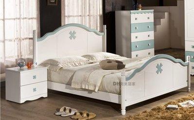 【DH】貨號HQ821《愛妮芬》3.5尺單人床架˙甜美造型˙可愛夢幻風˙粉/白兩色˙主要地區免運