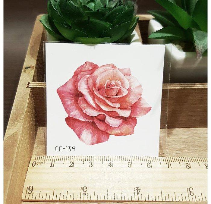 【萌古屋】花朵單圖CC-134 - 防水紋身貼紙刺青貼紙K38