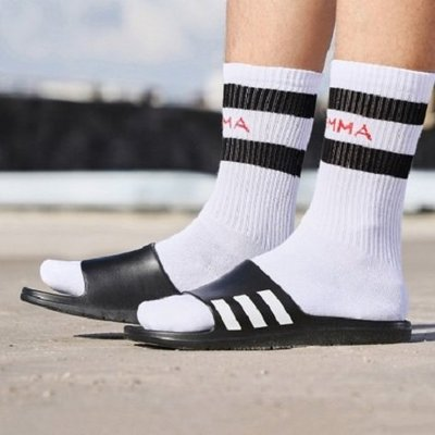 【Cool Shop】ADIDAS Aqualette 運動拖鞋 輕量 流行 三條線 拖鞋 黑色 防水 CG3540