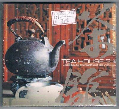 [鑫隆音樂]西洋CD-TEA HOUSE 3  茶館3  (全新)免競標