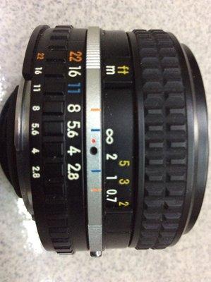 [保固一年] [高雄明豐]  NIKON AIS 28mm F2.8 手動對焦 老鏡 廣角 便宜賣