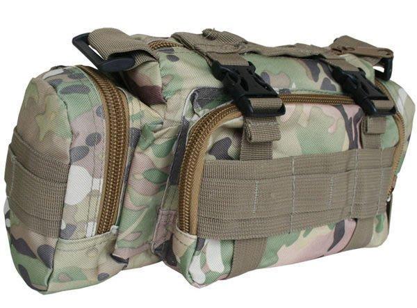 全新 隨身好物  魔法腰包 可當車頭包 車首包 輕鬆固定 標準軍規模組化設計 K23