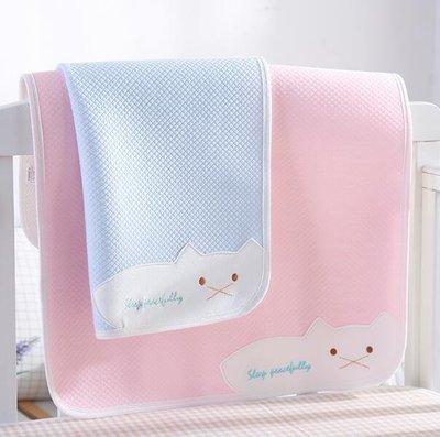 嬰兒隔尿墊純棉防水透氣可洗大號新生兒童寶寶床單月經姨媽小床墊—莎芭
