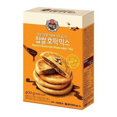 #悠西將# {現貨} 韓國CJ 糖餅粉 韓式糖餅 糖煎餅粉 煎餅粉 尹食堂 韓劇 DIY 糖心 糖餅 預拌粉 韓式鬆餅