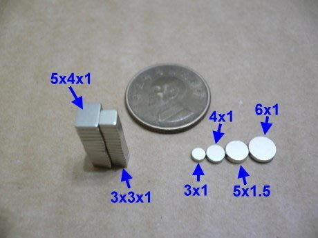 《釹鐵硼磁石工研所》釹鐵硼強力磁鐵--圓片磁鐵--直徑10*厚度3mm