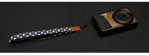 ☆eWhat億華☆韓國 ARNUVO 心心相印相機手腕帶  CANON NIKON SONY 各廠牌適用 海軍藍