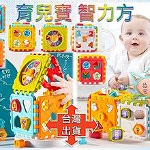 [現貨在台 台灣出貨]育兒寶智力方 可愛形狀智力箱 兒童認知方塊積木 益智拼裝玩具 益智玩具 早教玩具