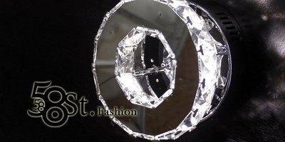 【58街】「高檔質感_鑽星環 壁燈、吸...
